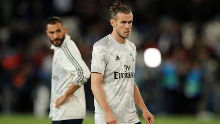 Revés para Zidane: ni Benzema ni Bale jugarán la Supercopa