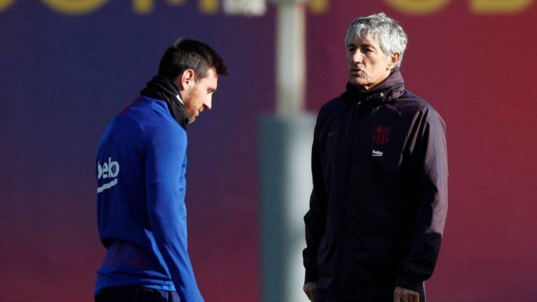 Entrenador nuevo, gol de Messi