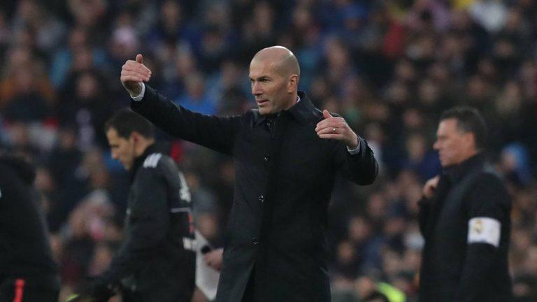 Zidane se inventa gol