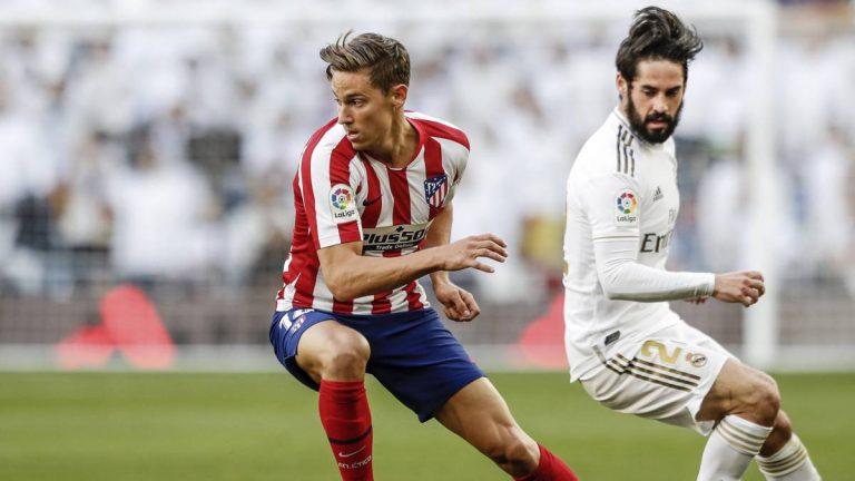 La energía de Marcos Llorente gana peso en el Atlético