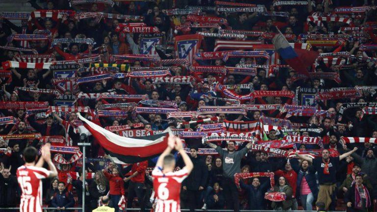 La afición del Atlético vuelve a acudir al rescate del equipo